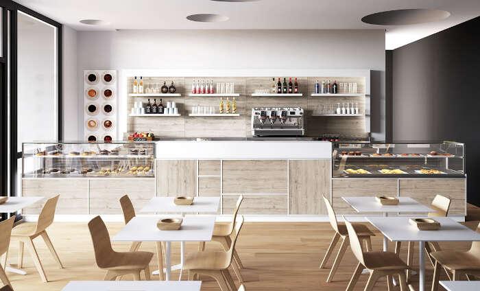 Progettazione Banconi Bar